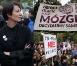 Protest przeciwko zaostrzeniu ustawy aborcyjnej: