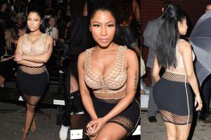 Nicki Minaj pokazuje biust w Nowym Jorku... (ZDJĘCIA)