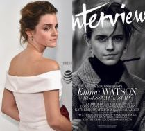 Emma Watson na okładce