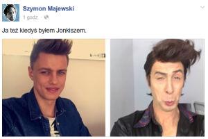 Szymon Majewski naśmiewa się z Jonkisza