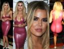 Khloe Kardashian wcisnęła się w plastikową