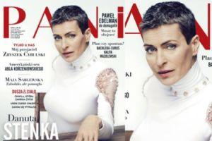 """Danuta Stenka w krótkich włosach na okładce """"Pani"""" (FOTO)"""