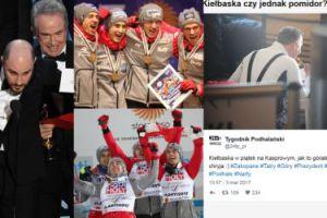ZDJĘCIA TYGODNIA: Polacy zdobywają złoto w Lahti, pomyłka Oscarowa, Duda je kiełbasę w Wielki Post...