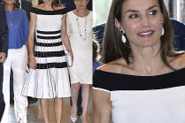 Królowa Letizia w sukience za 7 tysięcy
