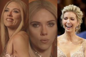 Scarlett Johansson zagrała Ivankę Trump w pastiszu reklamy perfum! (WIDEO)