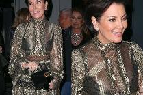 """Kris Jenner """"odmładza się"""" w sukience za 30 tysięcy"""