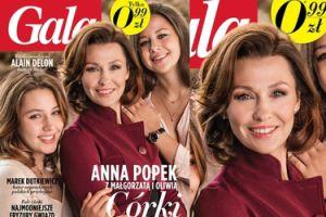 Anna Popek pokazała córki na okładce (FOTO)