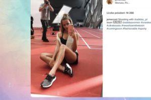 Jessica Mercedes chwali się nogami