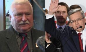 Wałęsa o porażce Komorowskiego: