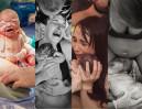Przejmujące zdjęcia matek i dzieci w chwili porodu (18+)