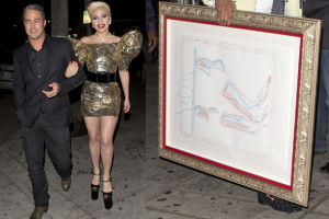 Lady Gaga na 30-te urodziny dostała obraz za 2 MILIONY (ZDJĘCIA)