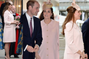 Ciężarna Kate w płaszczu od Alexandra McQueena (ZDJĘCIA)
