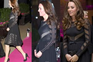 BRZUSZEK Kate Middleton na gali! (ZDJĘCIA)