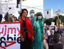 Tłumy protestują pod Sejmem: