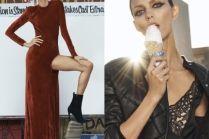 Anja Rubik w katalogu luksusowego domu mody