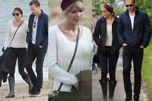 """""""Barbie na angielskiej wsi"""": Taylor Swift już poznała matkę Hiddlestona… (ZDJĘCIA)"""