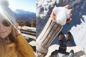 Kasia Tusk wyjechała na narty (FOTO)