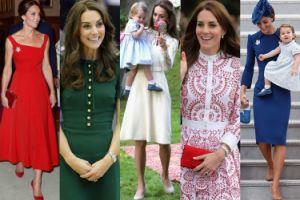 WSZYSTKIE STYLIZACJE Kate Middleton z Kanady. Która najlepsza? (ZDJĘCIA)