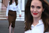 Elegancka Angelina Jolie w siedzibie ONZ