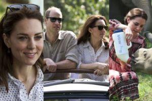 Kate i William pojechali na safari (ZDJĘCIA)