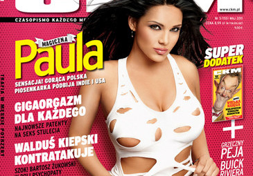 """Paula na okładce """"CKM""""! (FOTO)"""