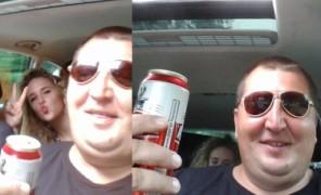 Rolnik bez żony z piwem za kierownicą... (ZDJĘCIA)