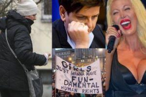 """ZDJĘCIA TYGODNIA: kompromitacja Polski w Brukseli, Kotulanka znów pije, Międzynarodowy Strajk Kobiet, straszne twarze Isis Gee i """"żywego"""" Kena"""