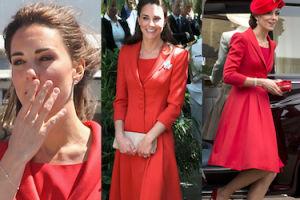 Księżna Kate pokazała się w płaszczu sprzed 5 lat (ZDJĘCIA)
