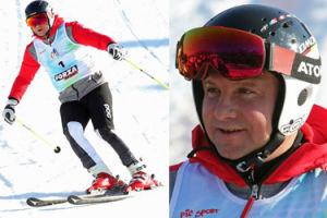 Andrzej Duda jeździ na nartach ku pamięci Marii Kaczyńskiej (ZDJĘCIA)