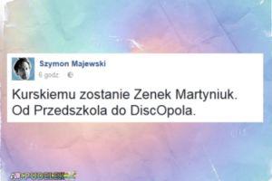"""Szymon Majewski: """"Kurskiemu zostanie Zenek Martyniuk"""""""