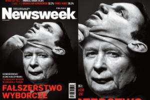 """Nowa okładka """"Newsweeka"""": """"FAŁSZERSTWO WYBORCZE!"""""""