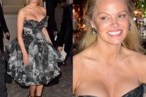 Pamela Anderson na imprezie w Paryżu