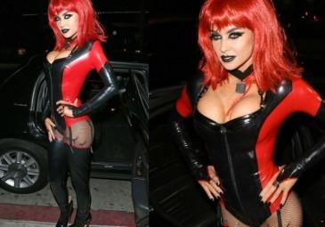 41-letnia Carmen Electra w Halloween... (FOTO)