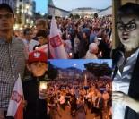 """Protesty przeciwko reformie sądownictwa: """"ADRIAN WETUJ!"""" (ZDJĘCIA)"""