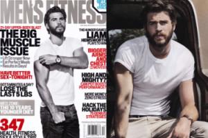 Były Miley Cyrus chwali się mięśniami na okładce (ZDJĘCIA)