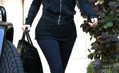 Kim Kardashian przyłapana na ulicy