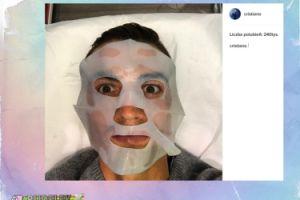 Tak Ronaldo dba o twarz (FOTO)