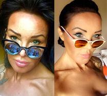 Ewa Minge wybiera okulary na urlop