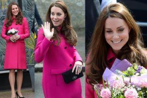 Wiosenna Kate w zaawansowanej ciąży (ZDJĘCIA)