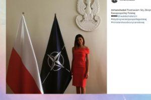 """Miriam Shaded """"pozdrawia Siły Zbrojne Rzeczpospolitej"""" (FOTO)"""