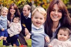 Kate i William wydali własną kartkę świąteczną!