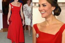 Elegancka Kate Middleton w Kanadzie