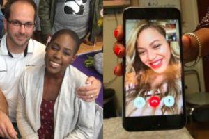 """Beyonce zrobiła niespodziankę fance chorej na raka. """"To był najlepszy dzień w moim życiu!"""""""