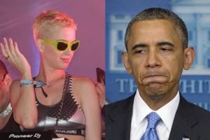 """Katy Perry kpi z Obamy? """"""""Tęsknię za twoimi czarnymi włosami"""". A za Obamą też tęsknicie?"""""""