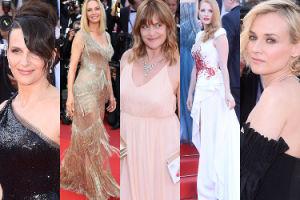 Gala zamykająca festiwal w Cannes: Thurman, Kruger, Binoche, Chastain... (ZDJĘCIA)