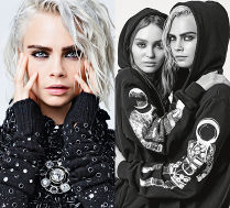 Cara Delevingne i Lily-Rose Depp w kampanii Chanel
