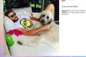 Zakochana Miley Cyrus chwali się partnerem
