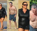 Pierce Brosnan z żoną na Hawajach (ZDJĘCIA)