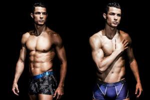 Cristiano Ronaldo pozuje w majtkach