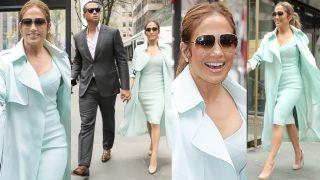Szczęśliwa Jennifer Lopez w stylizacji za 37 TYSIĘCY ZŁOTYCH na randce z nowym chłopakiem (ZDJĘCIA)